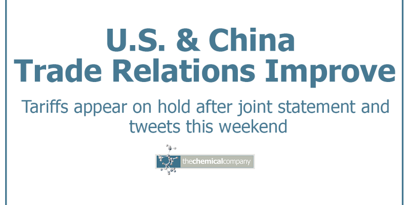 US and China trade relations - The Chemical Company   Chemical Distributor