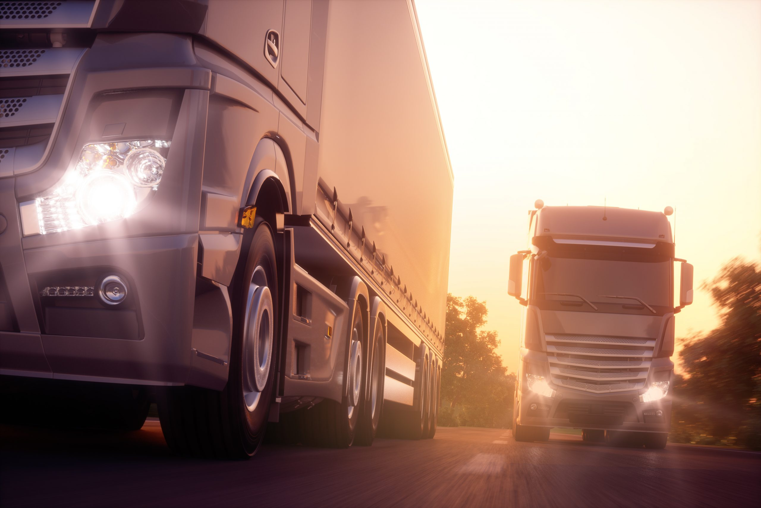 trucks driving - The Chemical Company   Chemical Distributor