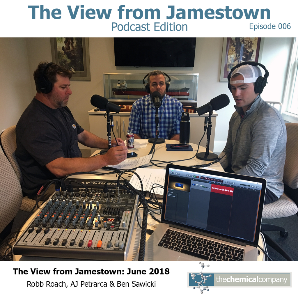June 2018 The View from Jamestown Podcast The Chemical Company