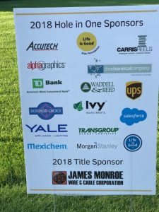 The Chemical Company 2018 Play Fore Playmakers Charity Golf Life is Good Kids Foundation Sterling National