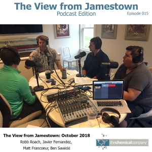 October 2018 | The View, Podcast Edition - Episode 015