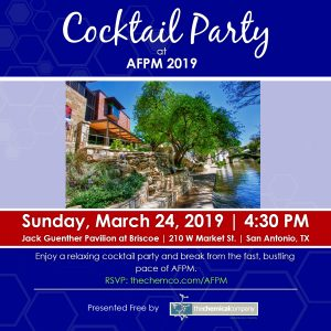 The Chemical Company AFPM Cocktail Party 2019