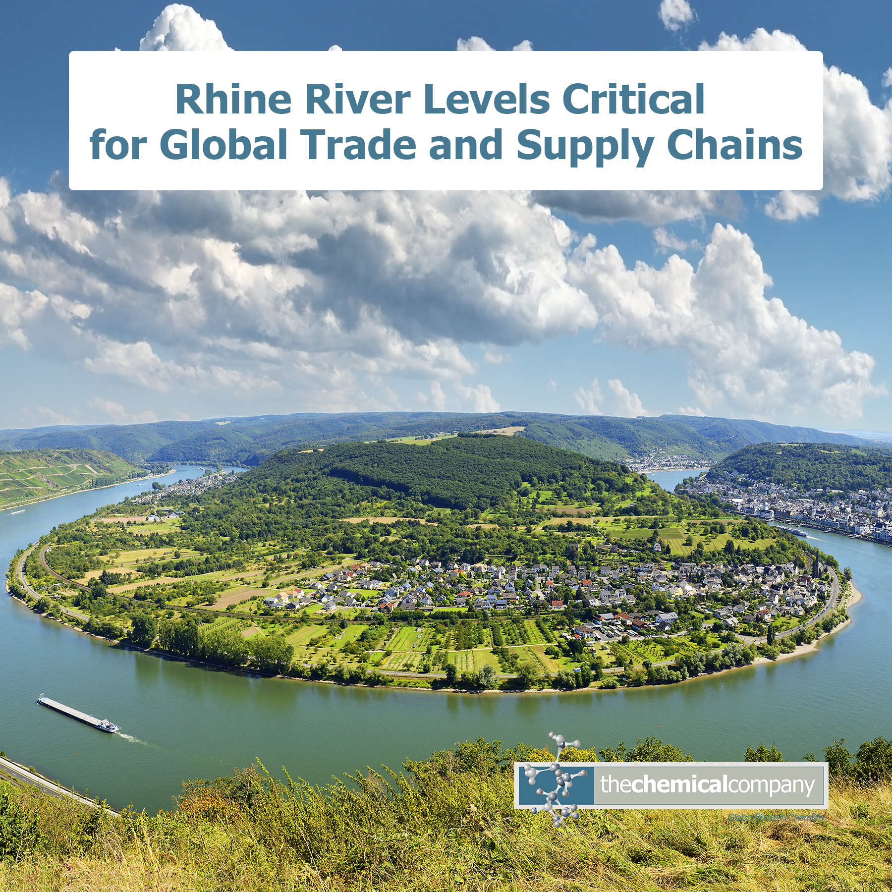 rhine river critical levels for the chemical company