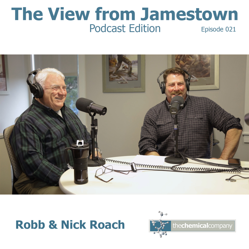 Nick & Robb Roach The View from Jamestown Podcast Edition
